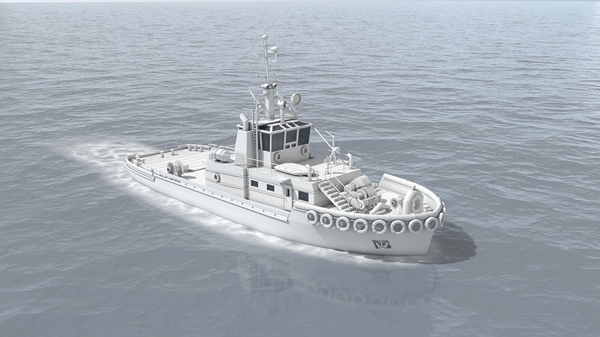 En 32 meter lang taubåt fra Keppel Smit Towage i Singapore skal utstyres med autonomiutstyr for testing  i ett av verdens mest travle havneområder.