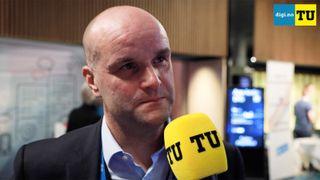Halvor Molland, informasjonsdirektør i Hydro.