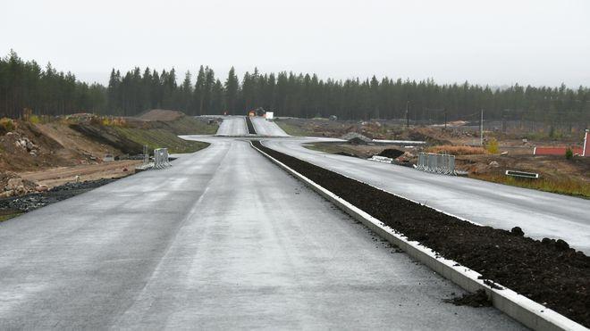 Når denne veien er ferdig vil Vegvesenet betale 420.000 kroner i leie hvert døgn den er åpen