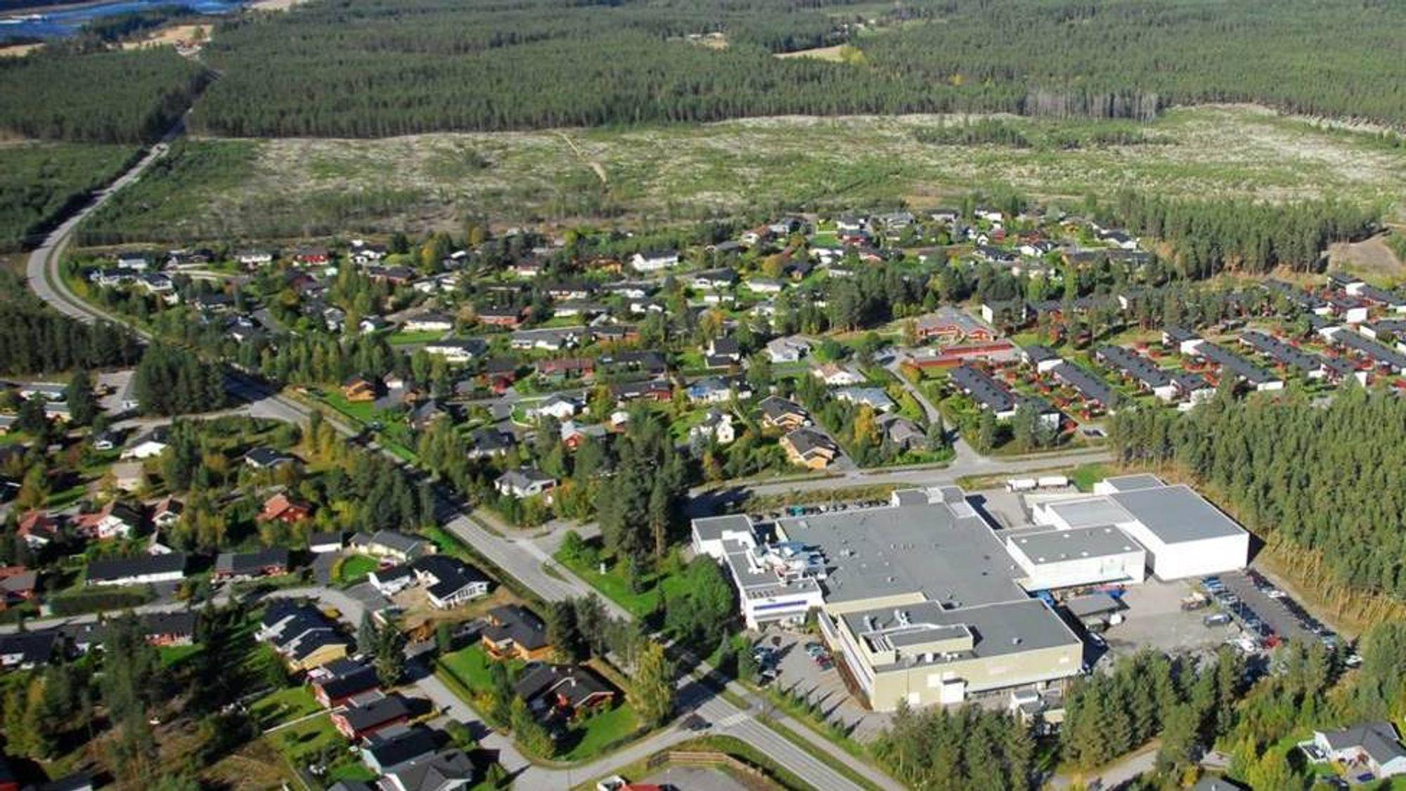 Fabrikken: Den ansattetablerte legemiddelfabrikken på Elverum har snart like mange ansatte som den gangen den ble vedtatt nedlagt