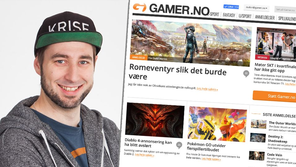Erling Rostvåg blir administrerende direktør for Gamer.no og Good Game