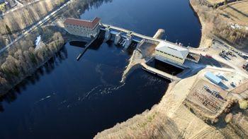 Forshuvud-kraftverket i Dalarna har fått 5 MW batterier.