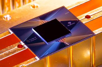 Sycamore-prosessoren til Google er utstyrt med 54 qubits.