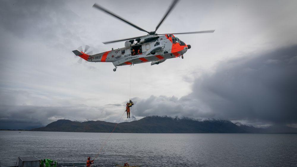 Kongsberg Aviation fått forlenget vedlikeholdskontrakten på Sea King fram til 2023
