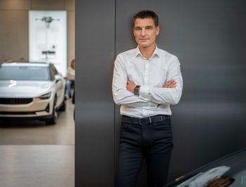 Tyske Thomas Ingenlath har vært designsjef hos Skoda, VW og Volvo. Nå er han toppsjef i Polestar.
