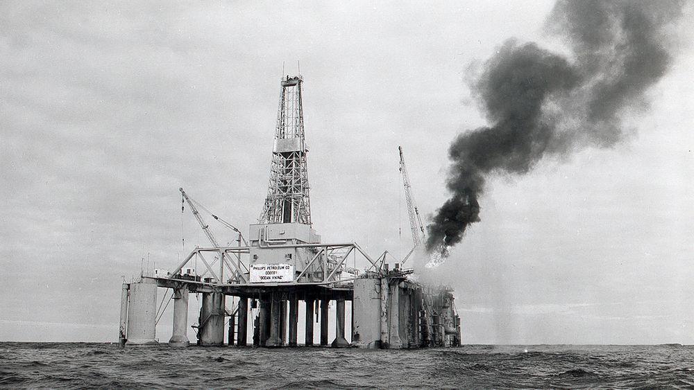 Første felt: Da Ocean Viking fant olje og gass på Ekofisk, ble dette den første feltutbyggingen. Feltet som ligger 300 km sørvest for Stavanger, drives av ConocoPhillips.