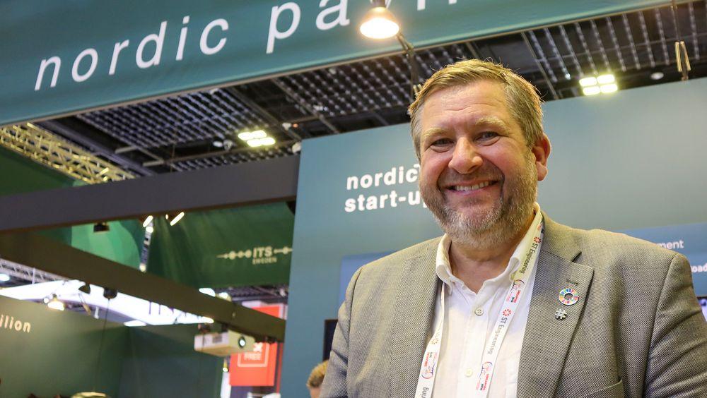I Singapore: Ruters administrerende direktør, Bernt Reitan Jenssen er i Singapore for å delta på ITS-konferansen og for å avtale et tettere samarbeid med byen som  er regnet som en av de mest avanserte på området i verden.