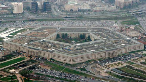 Pentagon valgte Microsoft. Flyfoto av forsvarskjempens hovedkvarter i Washington.