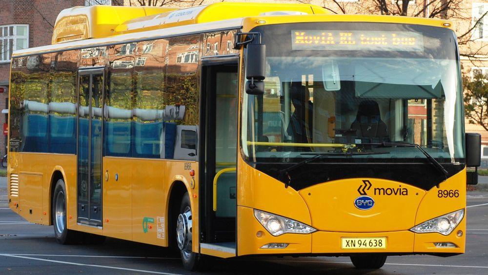 Allerede i 2014 startet Movia med elektriske busser i København.
