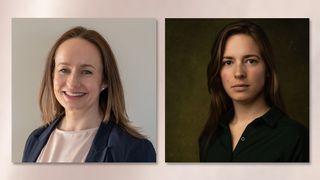Dr. Leonora Bergsjø, forsker, UiO, leder NORDE Norsk råd for digital etikk og Dr. Inga Strümke, AI-rådgiver, PwC, og styremedlem i NORDE.