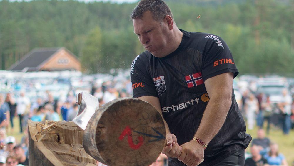 Stokkens overmann: Ole Ivar Lierhagen er en del av det norske laget. Her er han i aksjon i det nordiske mesterskapet på Dolemo i august.