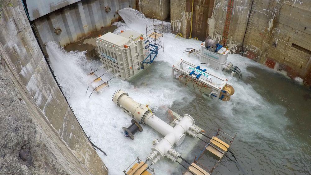 Det siste året har Siemens og partnerne gjennomført omfattende testing i Trondheim Havn, for å kunne beregne levetiden til komponentene.