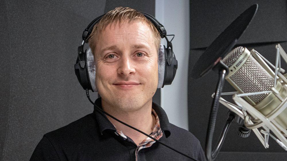 UKENS GJEST: David Zijdemans i Varmepumpeforeningen.