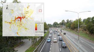 Rapport: Bilen gir tre ganger bedre jobbmuligheter i 92 prosent av tilfellene