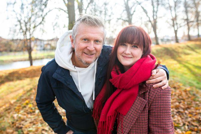 HC Andersen (48) og Andrea Lindquist (25) skal lede det nye NRK P1-programmet fra Fredrikstad.