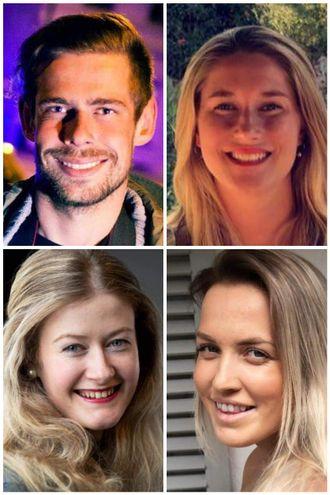 Drammens Tidende har ansatt fire nye journalister. Vegard M. Aas, Linn Christoffersen, Oda Bekkestad og Matilde Torsøe.