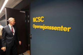 NSM-direktør Kjetil Nilsen ved NCSC Operasjonssenter, som tidligere het NorCERT.