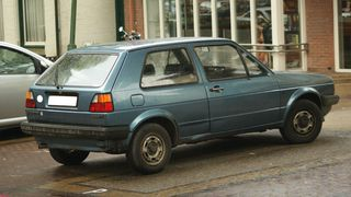 1985-modell Volkswagen Golf.