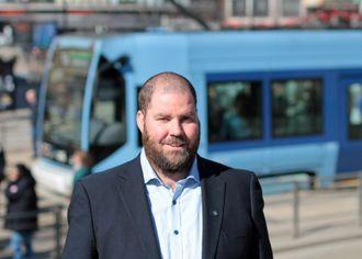 Øystein Dahl Johansen, kommunikasjonsrådgiver i Ruter.