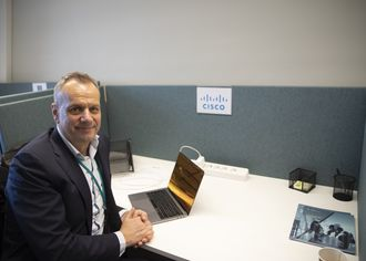 Cisco har mye å bidra med, ifølge Leif Sundsbø.