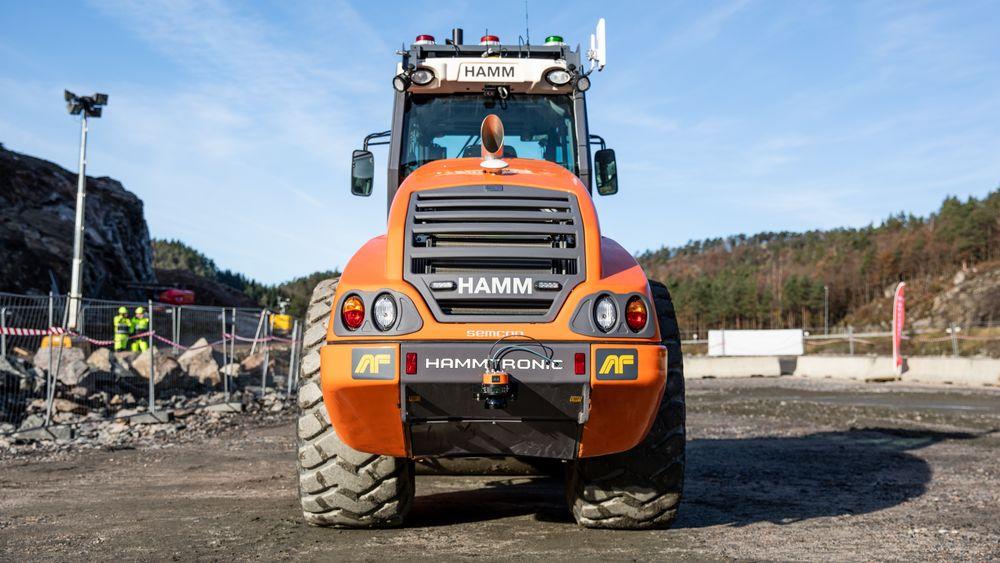 Den autonome valsen blir prøvd ut på en bygging av 19 km ny motorvei på E39 i Kristiansand øst.