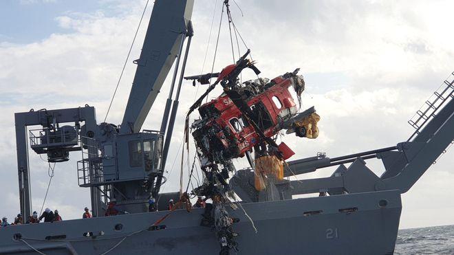 Turøy-ulykken er igjen et tema i Sør-Korea etter at Super Puma-helikopter styrtet i havet