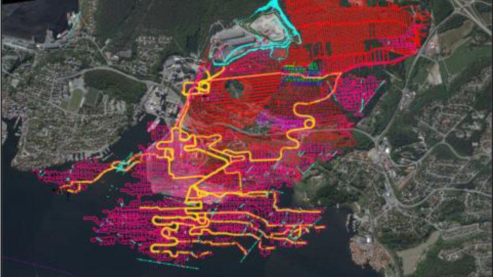 Fra NOAHs konsekvensutredning om deponi i Dalen gruver. Staten bør ikke avgjøre plasseringen, mener ekspertutvalget.