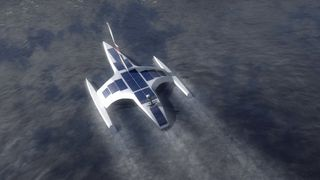 Autonomt sol- og vindskip skal krysse Atlanteren på 12 dager