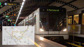 Slik kan T-banetilbudet i Oslo se ut i 2035