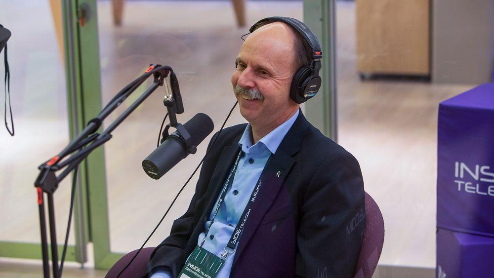 Avdelingsdirektør for satellittnavigasjon i Norsk Romsenter, Steinar Thomsen.