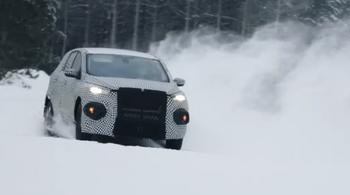 Her er Fords nye el-SUV på vintertesting, maskert til det ugjenkjennelige.