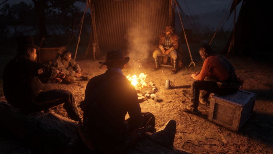 Red Dead Redemption 2 er vakkert på PC.