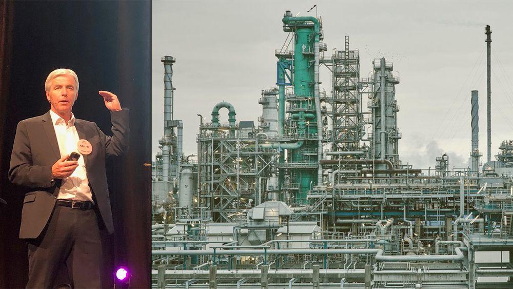 Petter Holland er administrerende direktør i Preem, Sveriges største oljeselskap.