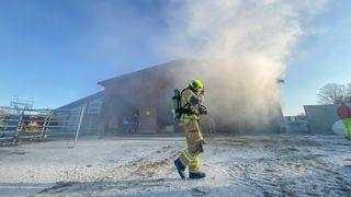 El-anlegg er årsaken til 7 av 10 branner i landbruket. Å måle temperatur i sanntid kan hindre skader for millioner