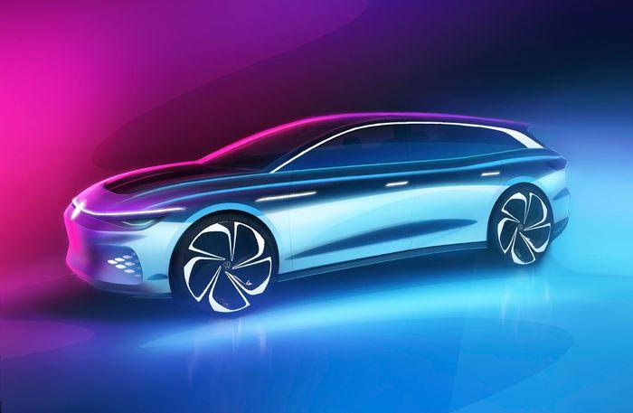 Volkswagen må ha tatt den norske folkesjelen på alvor. Nå er stasjonsvognen ID. Space Vizzion på gang.