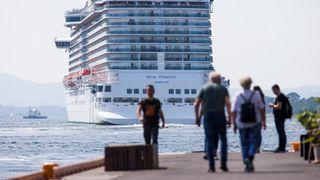 Legger igjen minst penger og slipper ut mest CO2: Nå vil NHO kutte kraftig i cruisetrafikken