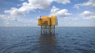 ABB kobler verdens største havvindpark til Storbritannias kraftnett