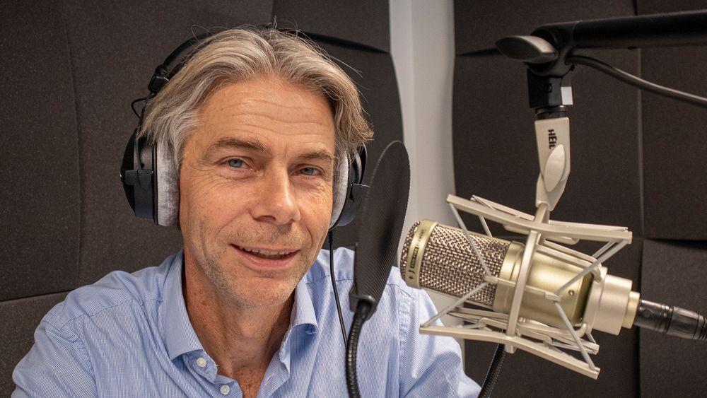 Sjefen for PCI Biotech, Per Walday, forklarer hvordan de skal kurere kreft med laser.