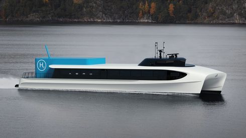 Bransjen er mer positiv til hurtigbåt-utvikling enn fylket:Fjord1 ønsker bonus for nullutslipp alt om to år
