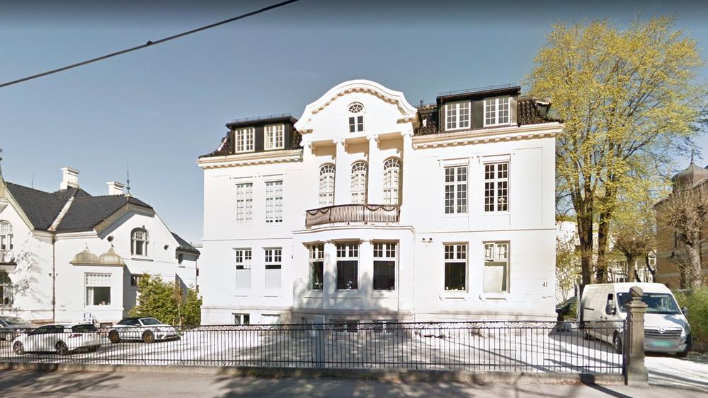 Villa Fredly på Frogner ble bygget om til boliger i 2015 og 2016.