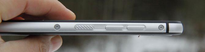 Knappene er også laget i aluminium, og er store og gode så de enkelt kan betjenes med hansker.
