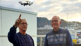 Snart kommer programmering inn på timeplanen: Bergen har kjøpt inn 300 droner