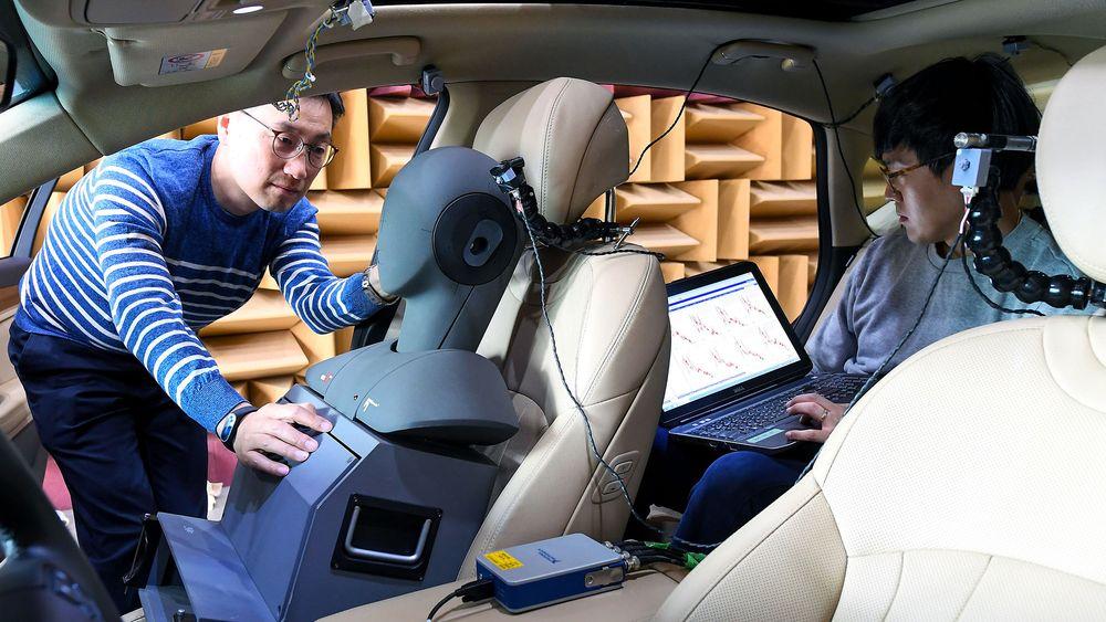 Ikke alene: Hyundai har hatt med seg mange partner for å utvikle det nye aktive støyreduksjonssystemet.