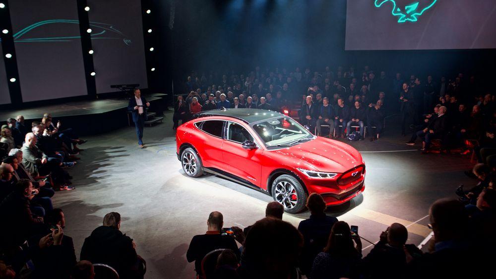 Ford inviterte journalist og de 15.000 som har satt seg på interesseliste i Norge på visningen av Ford Mustang Mach-E.