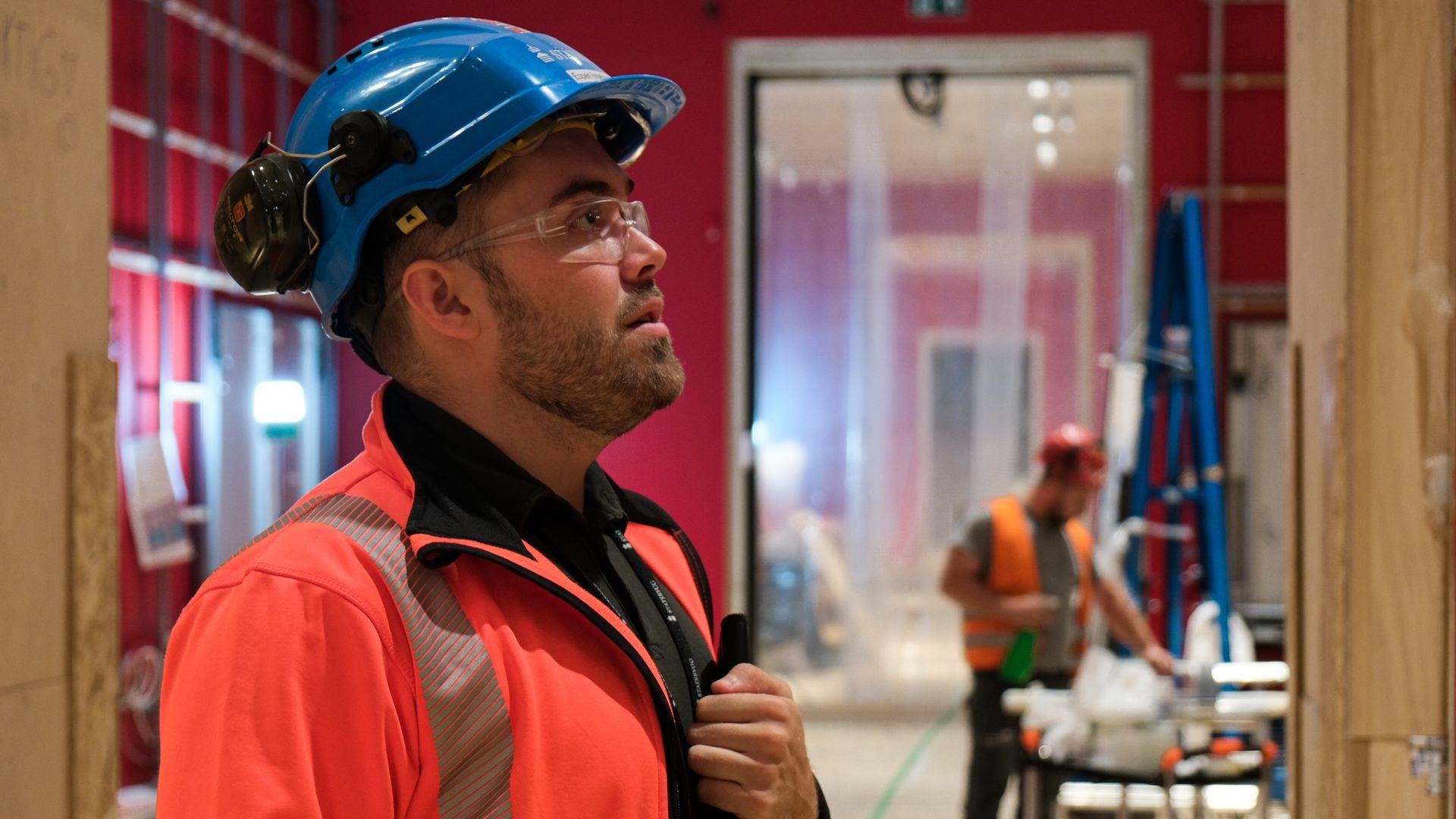 FIKK FAST JOBB: Tidligere summer Intern Espen Aksnes fikk fast jobb som assisterende prosjektleder på nye Nasjonalmuseet etter studiene.