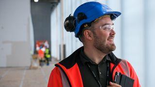 Slik gikk Espen fra Summer Intern til prosjektlederrolle på byggeprosjekt til 6 mrd. kroner