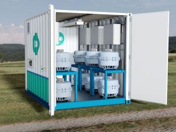 Den israelske oppfinnelsen kan kobles i serie og plasseres i containere.