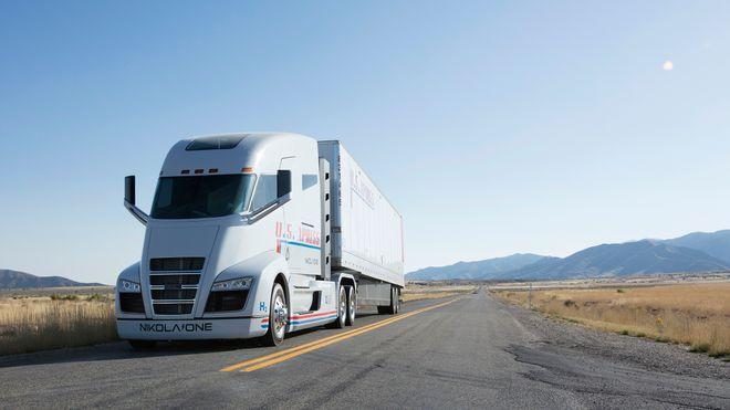 Da denne lastebilen ble vist frem på video, informerte ikke Nikola om at den ikke kunne kjøre for egen maskin.