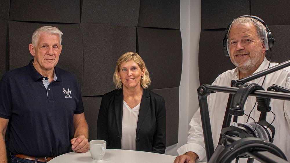 I midten: Trude Sundset, administrerende direktør i Gassnova.