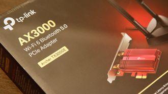 Denne adapteren gir wifi 6-støtte til den stasjonære PC-en din.